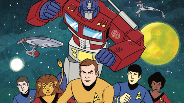 Photo of A New IDW Comic Is Mashing Up Star Trekand Transformersin the Most Glorious Way Possible