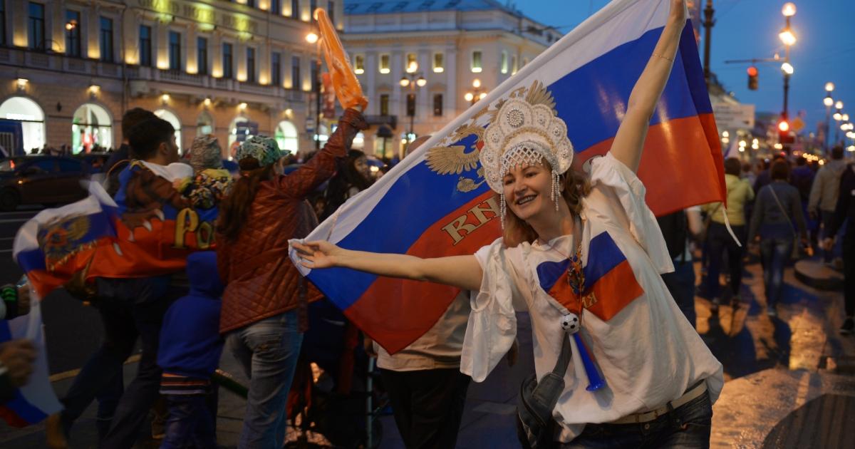 Фото Безумие на улицах. Как россияне отметили победу над Египтом (21 ФОТО)