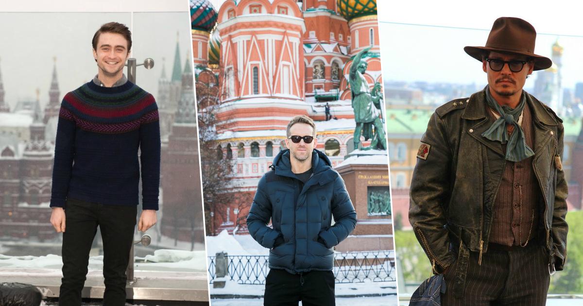"""Фото """"Хочется возвращаться"""": голливудские звезды, которые без ума от России"""