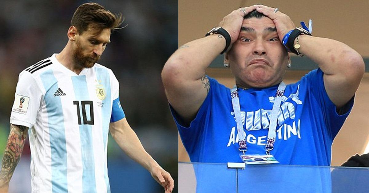 Аргентинцы разгромно проиграли на ЧМ и рискуют не выйти в 1/8 финала