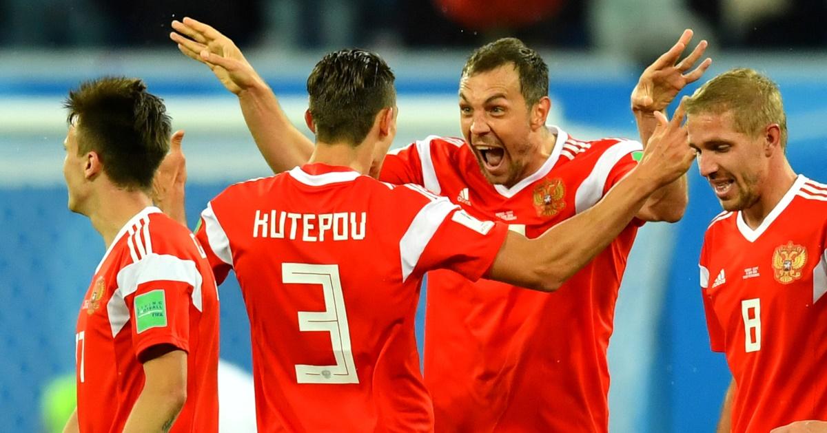 Названо, сколько миллионов заработала сборная РФ за выход из группы
