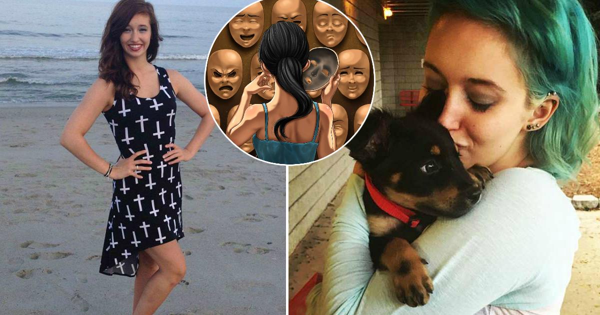 Фото Разные люди: из-за редкого расстройства внутри девушки уживаются 12 личностей