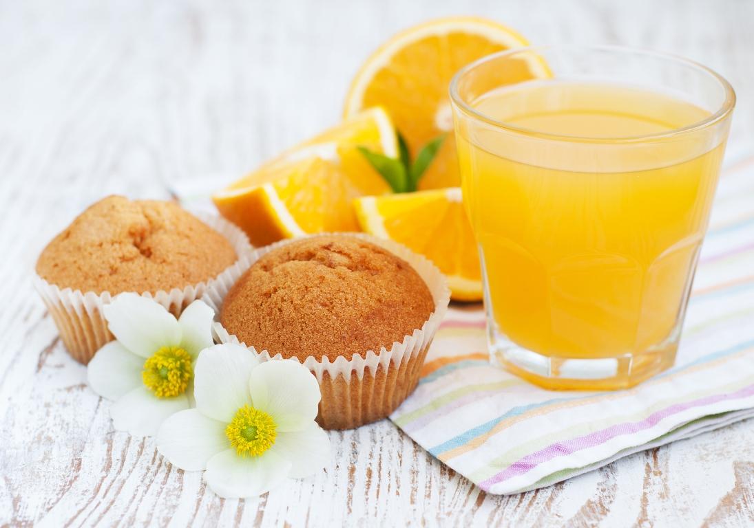 Восхитительные апельсиновые кексы