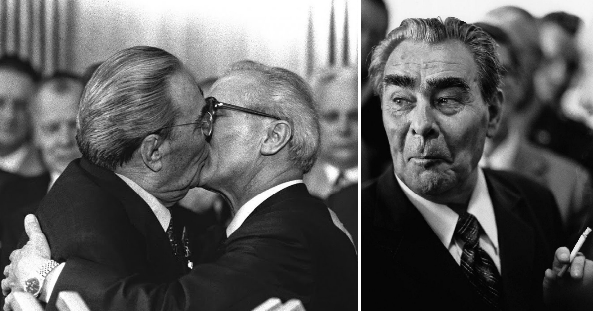 """Фото Особое приветствие, или с чего начались """"страстные"""" поцелуи Брежнева"""