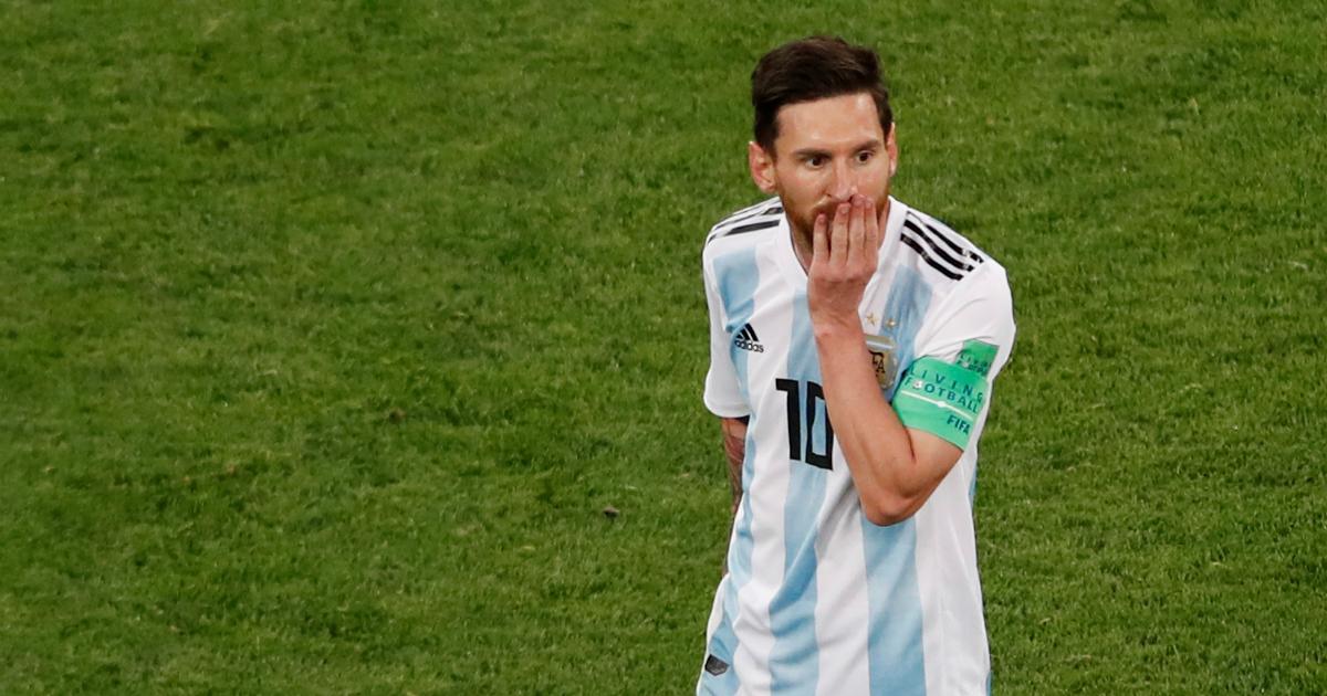 И пришел спаситель. Гол Месси помог Аргентине избежать вылета с ЧМ-2018