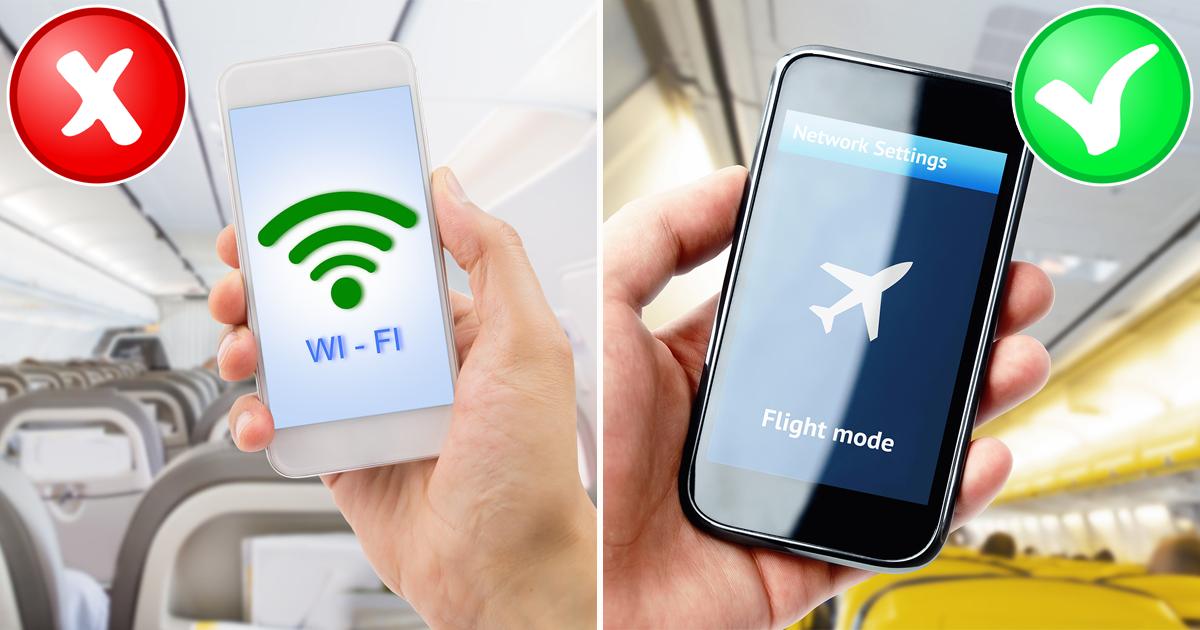 Почему на самом деле важно выключать электронные устройства при взлете и посадке самолета?