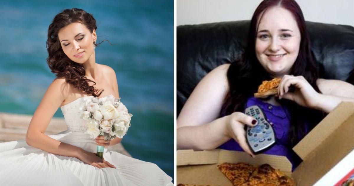 Фото Не торопись в загс. 6 признаков, что девушка растолстеет после свадьбы