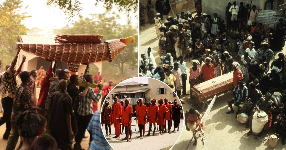 Фото Пусть полежит: почему в Африке похороны могут затянуться на несколько месяцев?