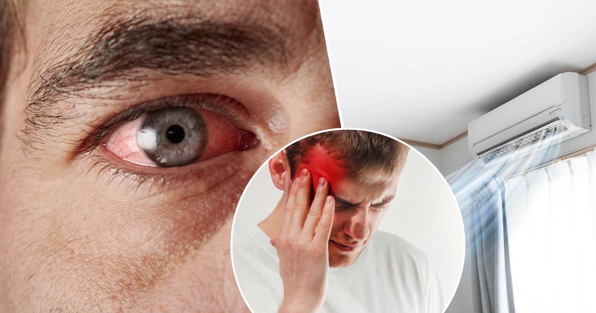 Фото Головные боли и сухая кожа: побочные эффекты использования кондиционера