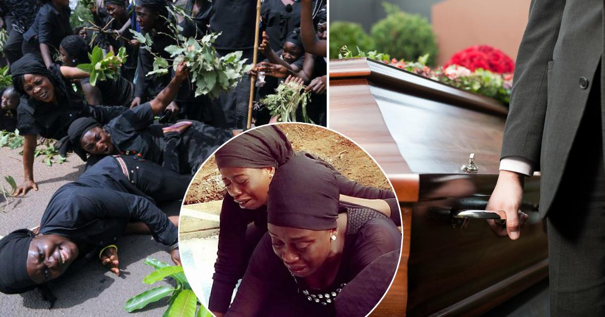 Верю! Зачем в Гане на похороны приглашают профессиональных плакальщиц