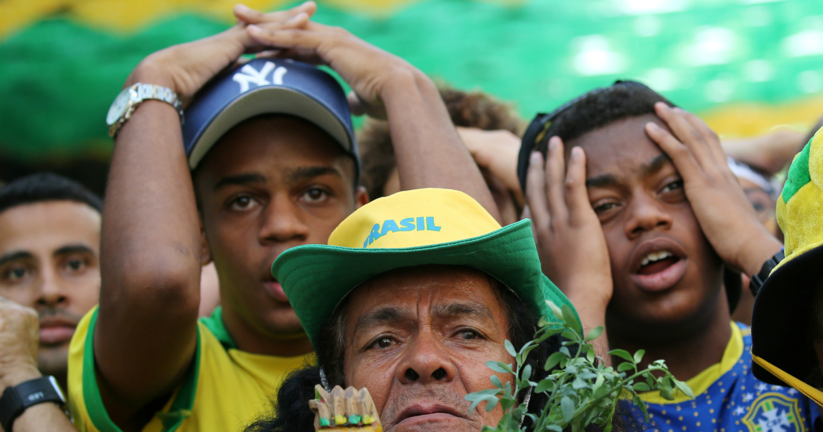 Фото Сборная Бельгии сенсационно выбила Бразилию с ЧМ-2018 и вышла в полуфинал