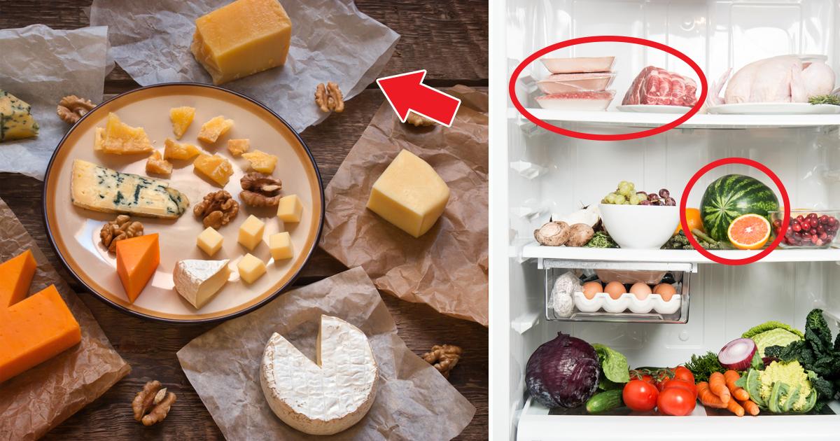Обычные продукты, которые многие хранят неправильно