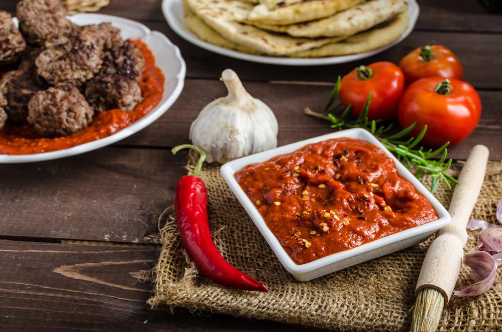 Грузинский томатный соус
