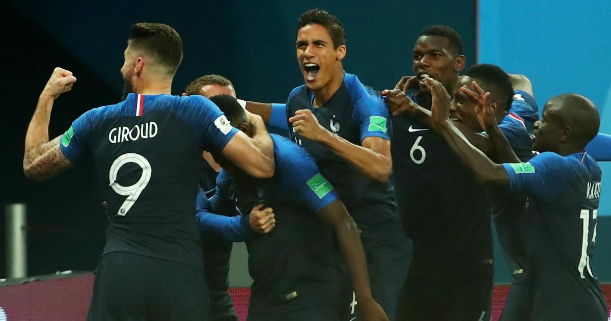 Сборная Франции обыграла Бельгию и стала первым финалистом ЧМ-2018