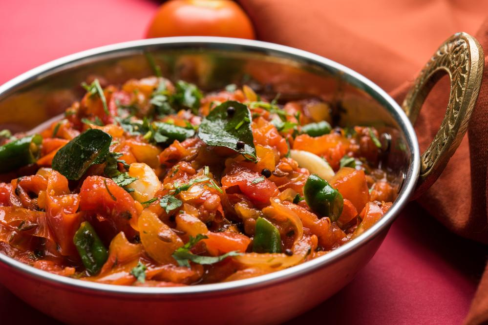 Сабджи – индийское овощное рагу