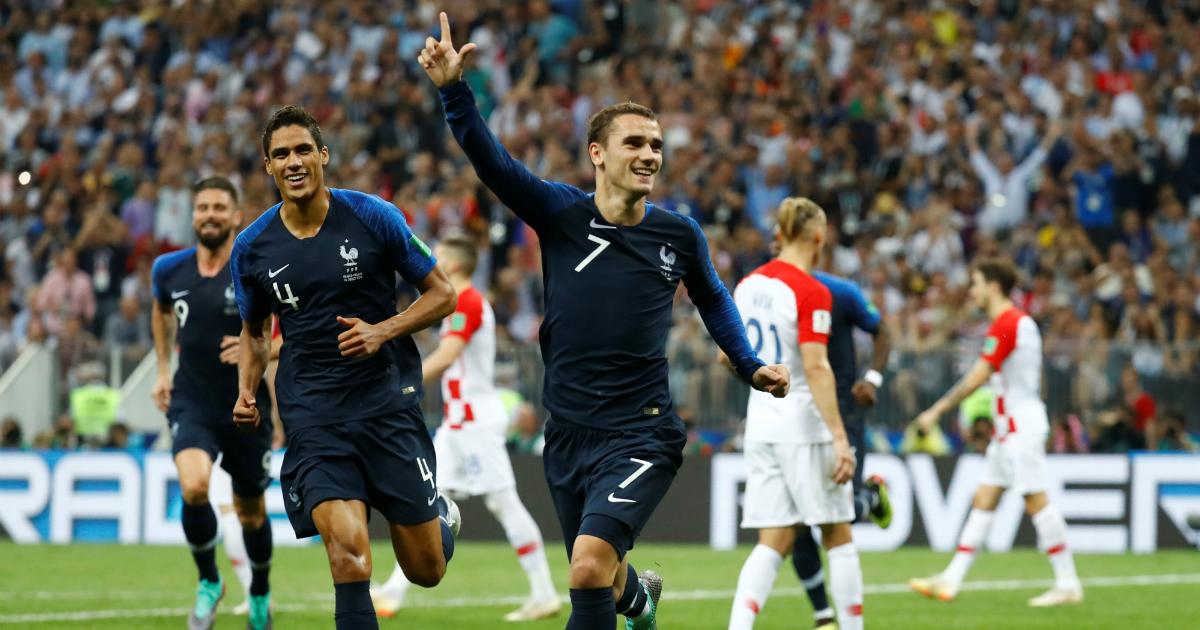 Фото Сборная Франции по футболу стала чемпионом мира-2018