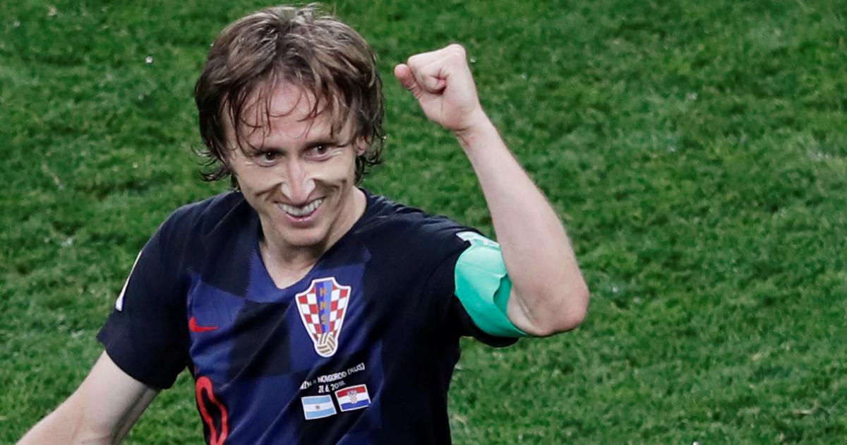 Лука Модрич признан лучшим футболистом ЧМ-2018