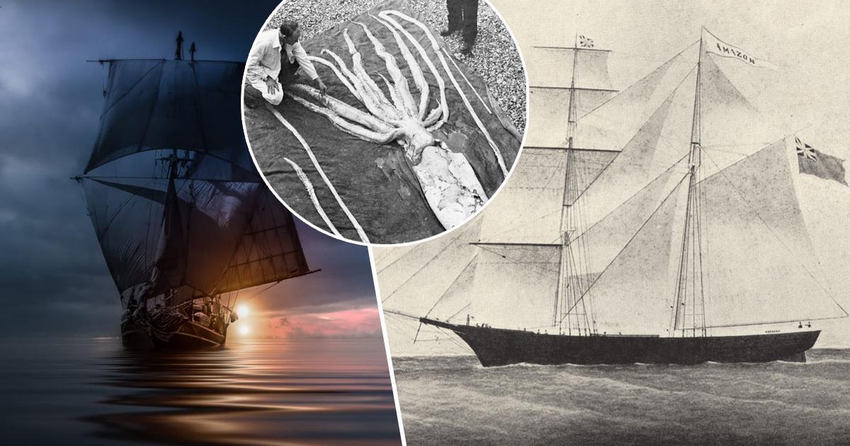 """Фото Мертвые души: как """"Мария Целеста"""" стала кораблем-призраком"""