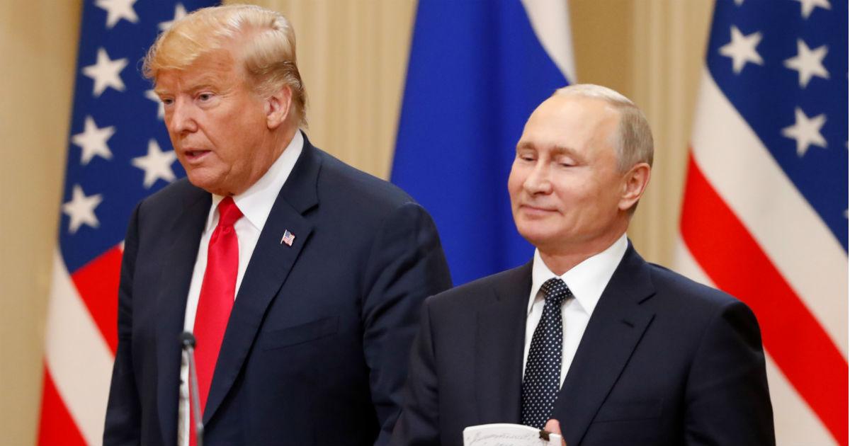 Фото Взял мяч – бей. Чего на самом деле добился Путин на встрече с Трампом