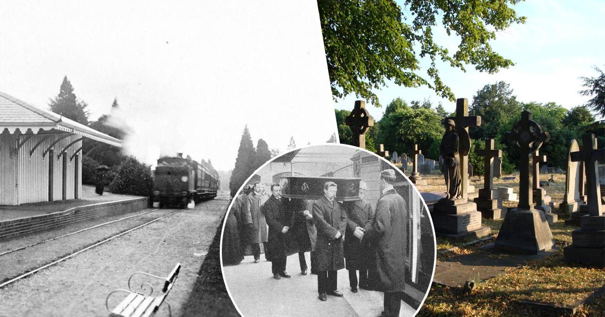 """Фото """"Лондонский некрополь"""", или почему в викторианской Англии существовал """"поезд смерти"""""""