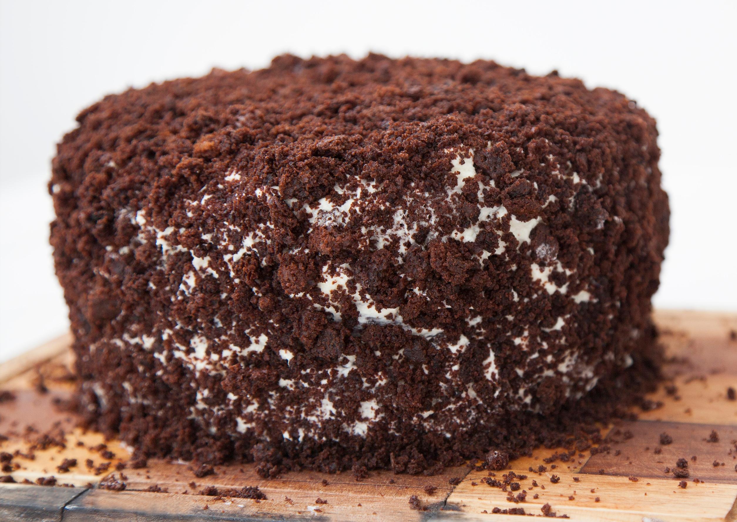 """Шоколадный торт на кефире """"Черный принц"""""""