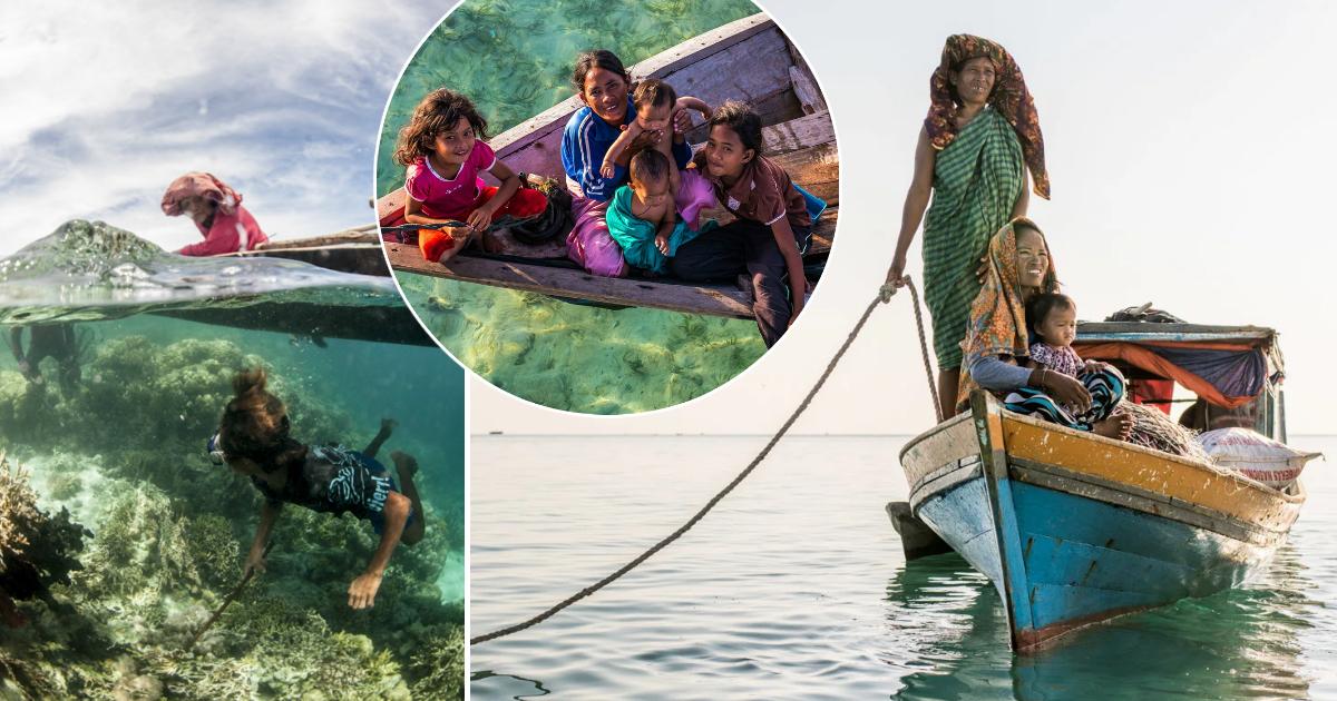 Фото Жизнь на воде, или как выглядит исчезающий мир морских цыган