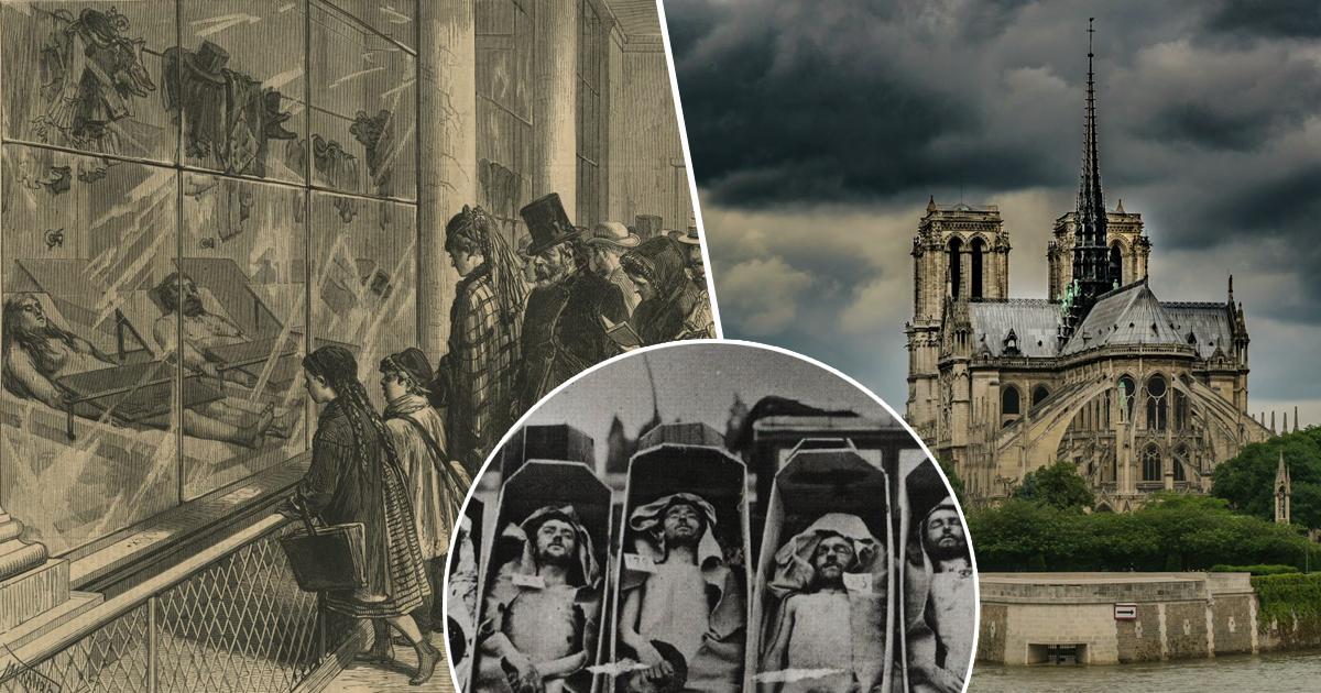Фото Экскурсии в морг. Жуткое развлечение парижан XIX века
