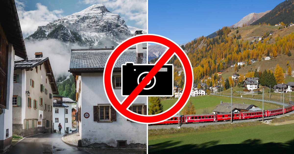 Фото Уберите камеру! Почему власти швейцарской деревни запретили ее фотографировать