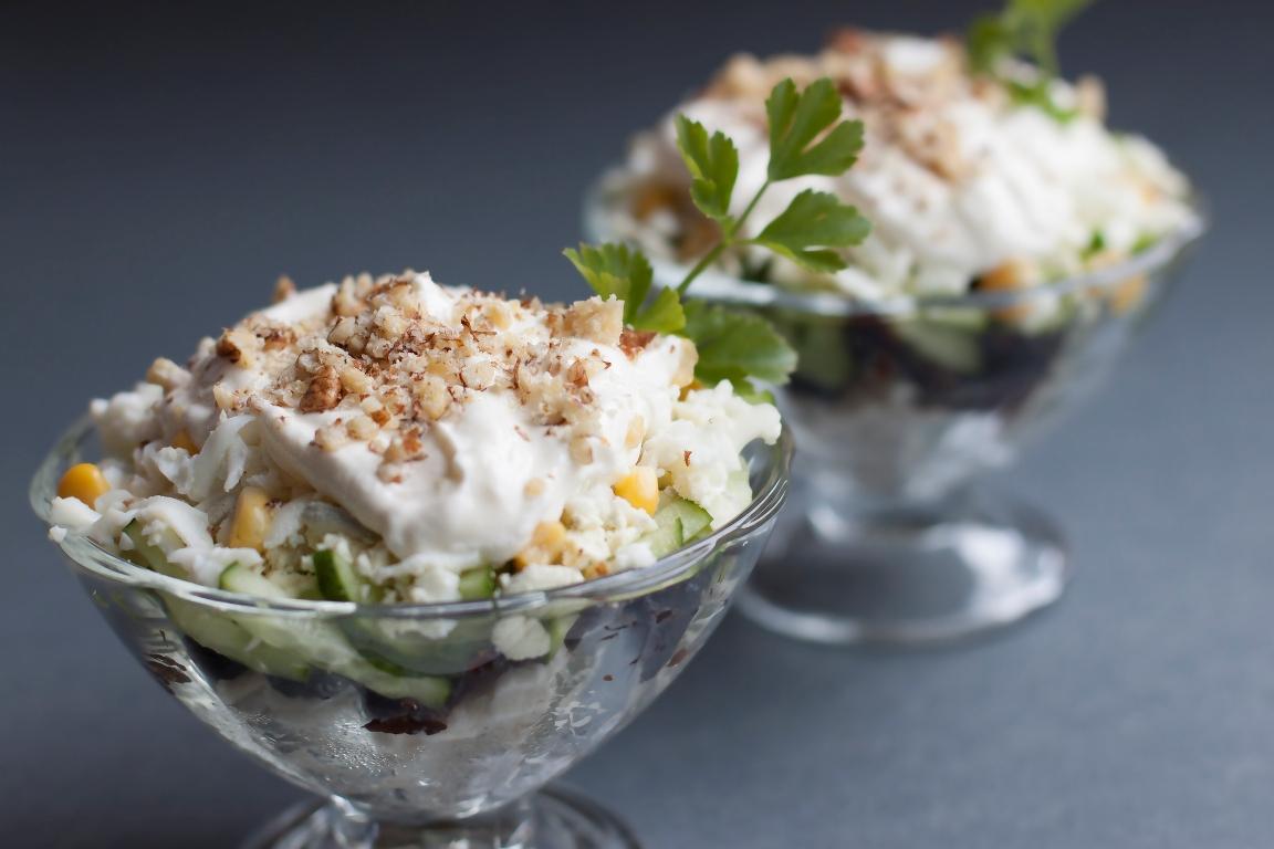 Аппетитный салат из пекинской капусты с курицей