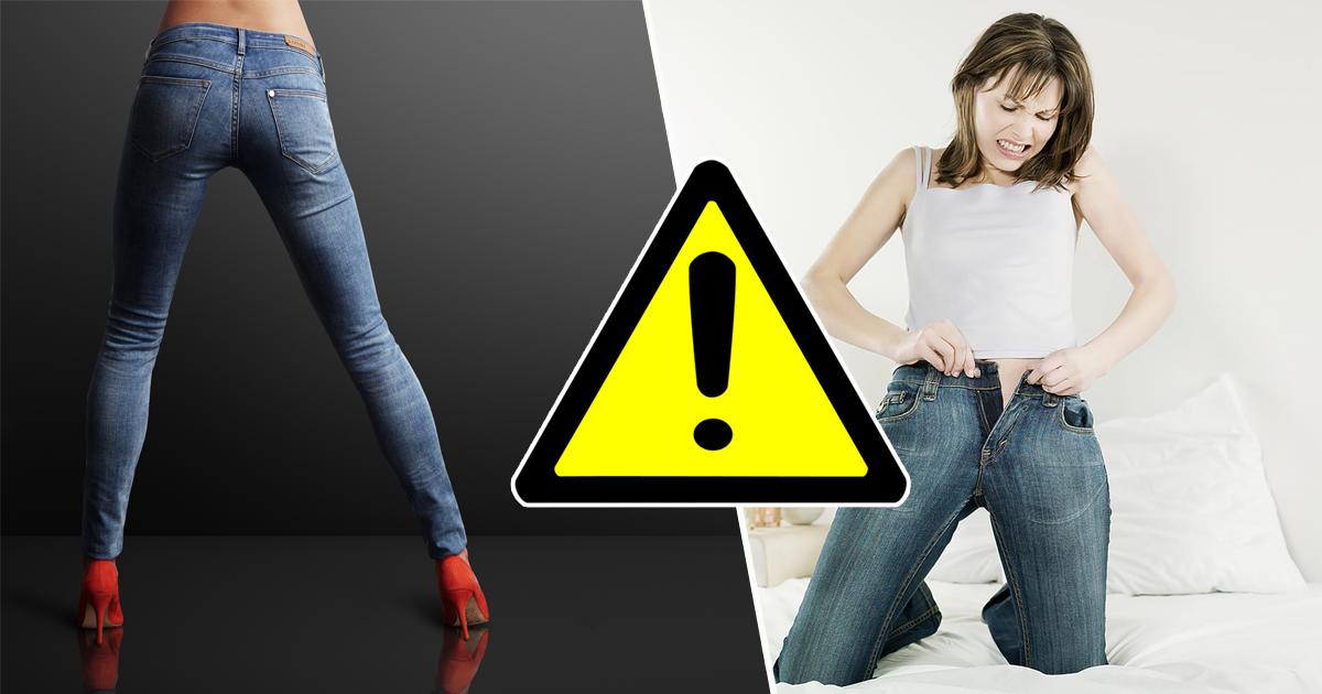 Опасная красота: как узкие джинсы гробят ваше здоровье