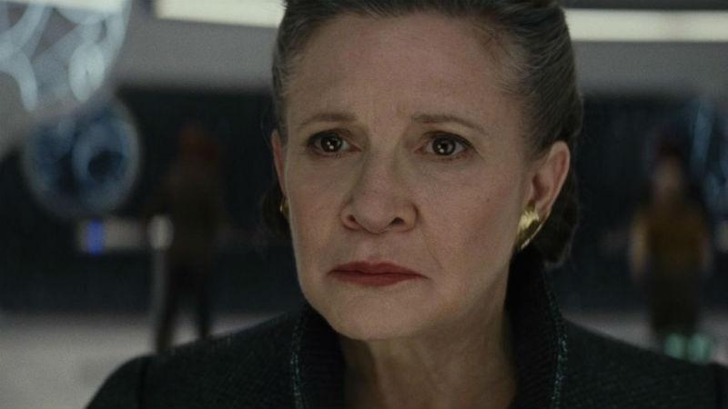 """Фото Кэрри Фишер вернется в последний раз в девятом эпизоде """"Звездных войн"""""""