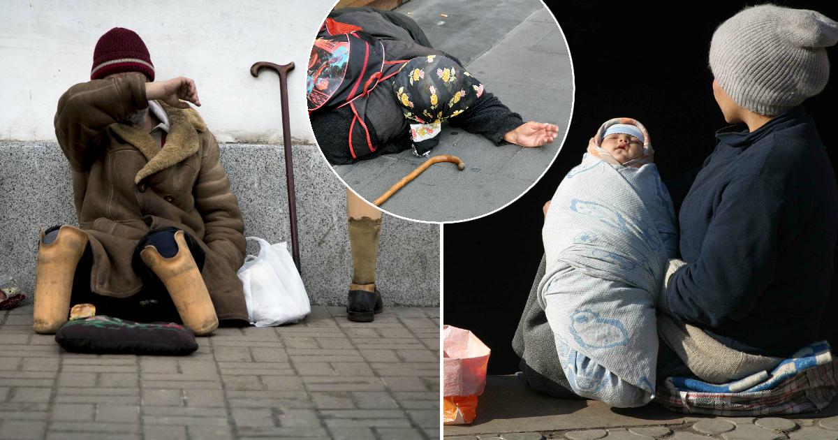 """""""Нищая мафия"""", или Сколько зарабатывают попрошайки на улицах"""