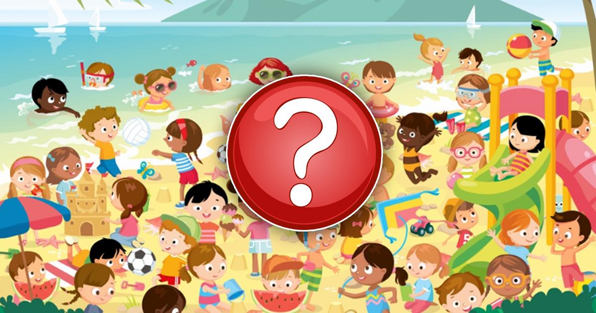 Фото Сможете ли вы найти близнецов на пляже? Безумная головоломка для самых внимательных
