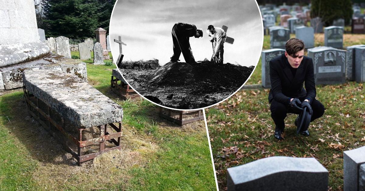 """Фото """"Жизнь"""" после смерти, или как в XIX веке боролись с похищением трупов"""