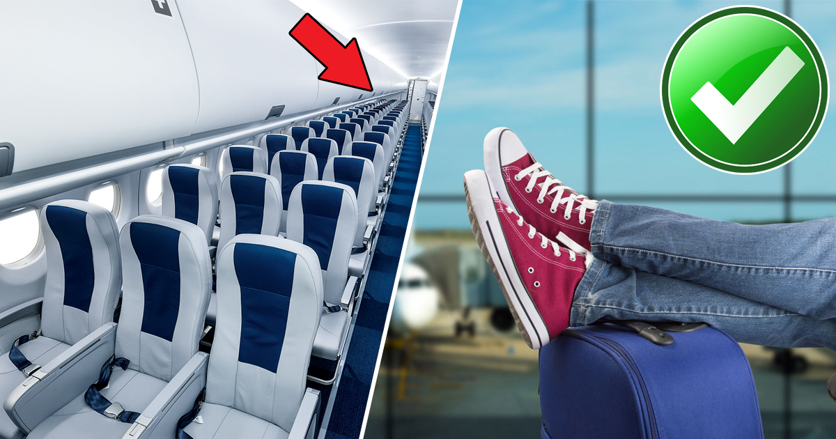 Фото Зачем стюардессам кеды? Правила выживания на борту самолета в экстренной ситуации