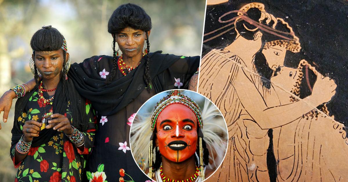 Фото Жена на двоих: странные и дикие сексуальные традиции племен и народов мира