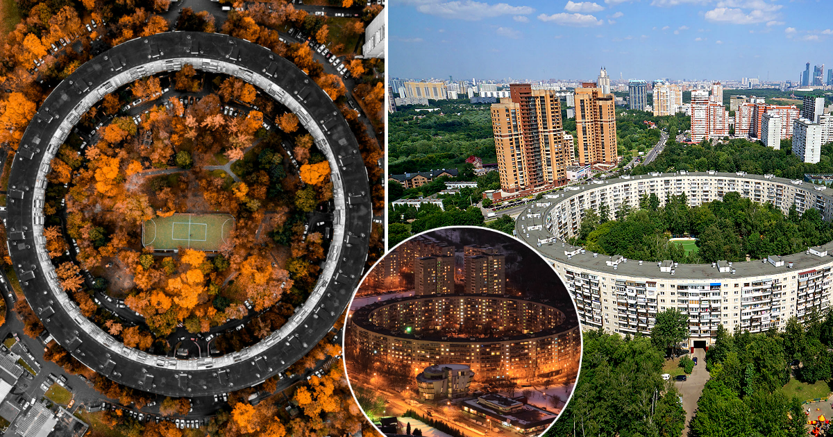 """""""Дома-бублики"""": как в Москве появились круглые многоэтажки и легко ли в них живется"""