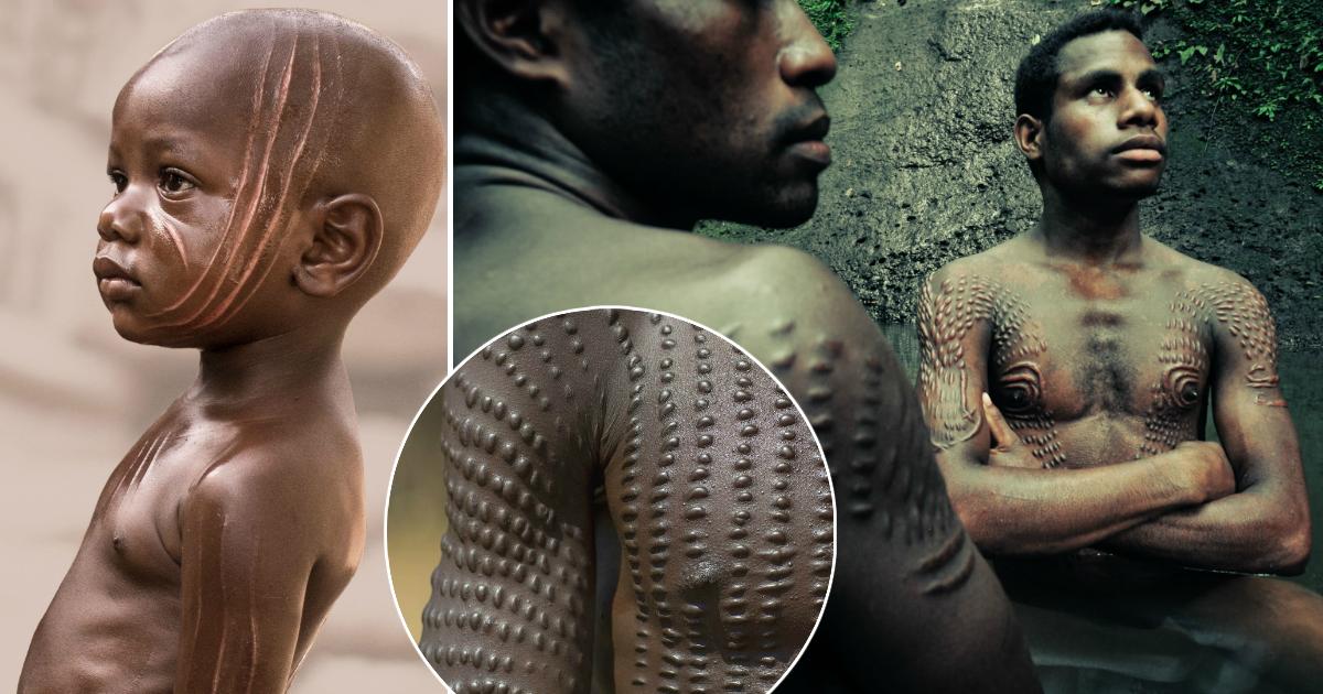 Почему в племени сурма шрамы считаются признаком красоты