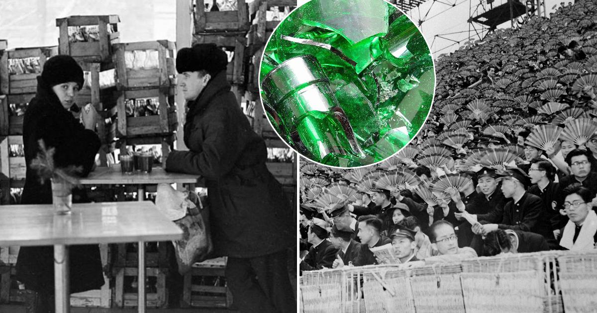Фото Зачем Япония массово покупала у СССР битое стекло