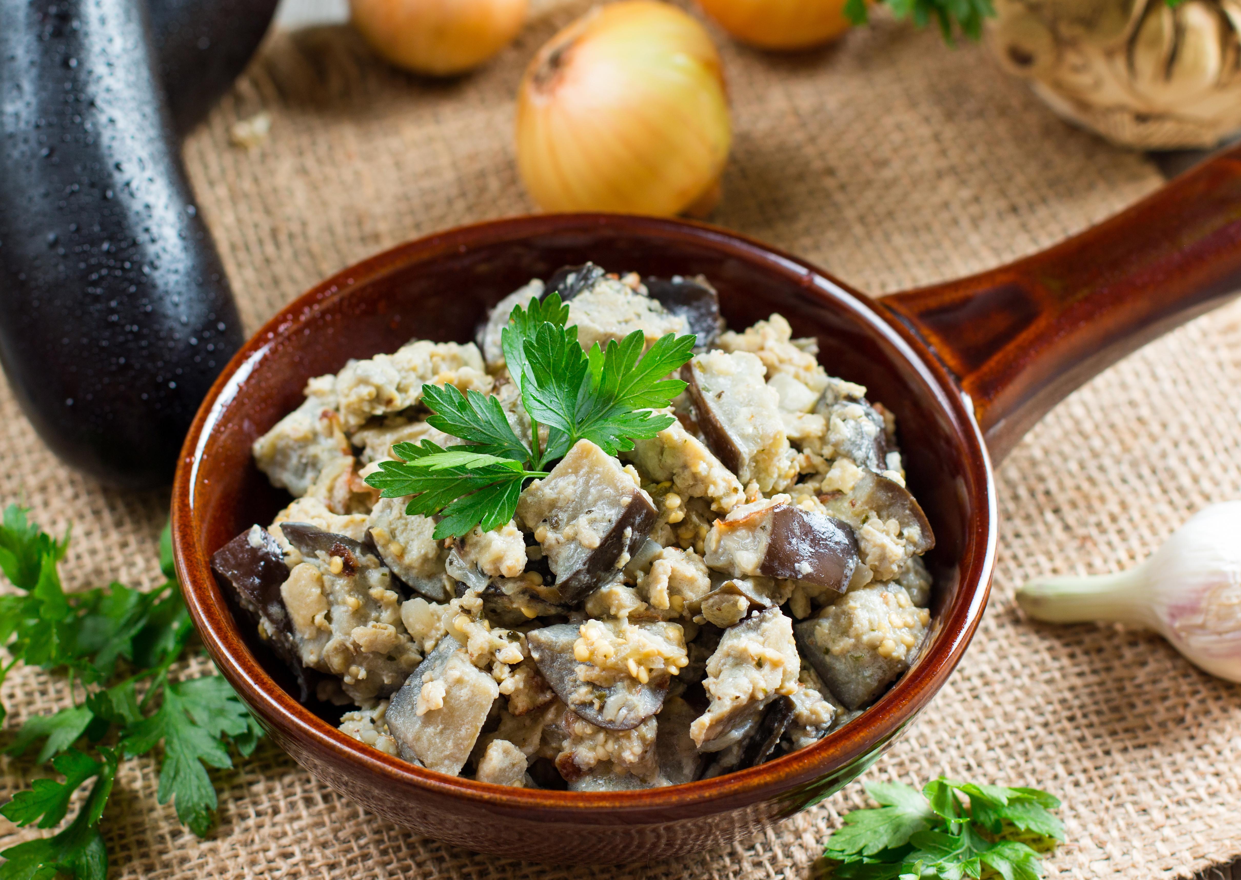 Баклажаны по вкусу как грибы