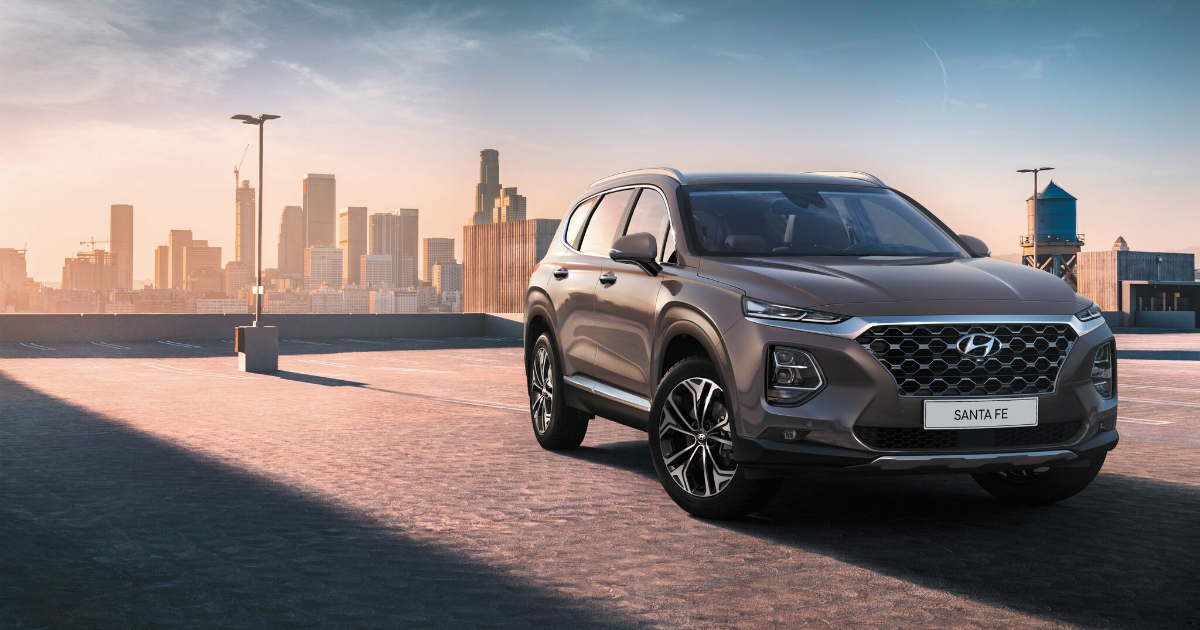 Новое поколение Hyundai Santa Fe выходит на российский рынок
