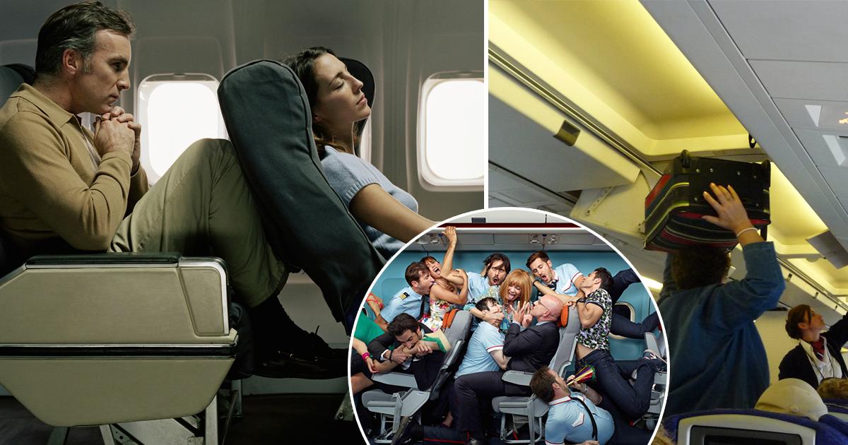 Фото Держите ноги при себе! Правила этикета, которым нужно следовать в самолете