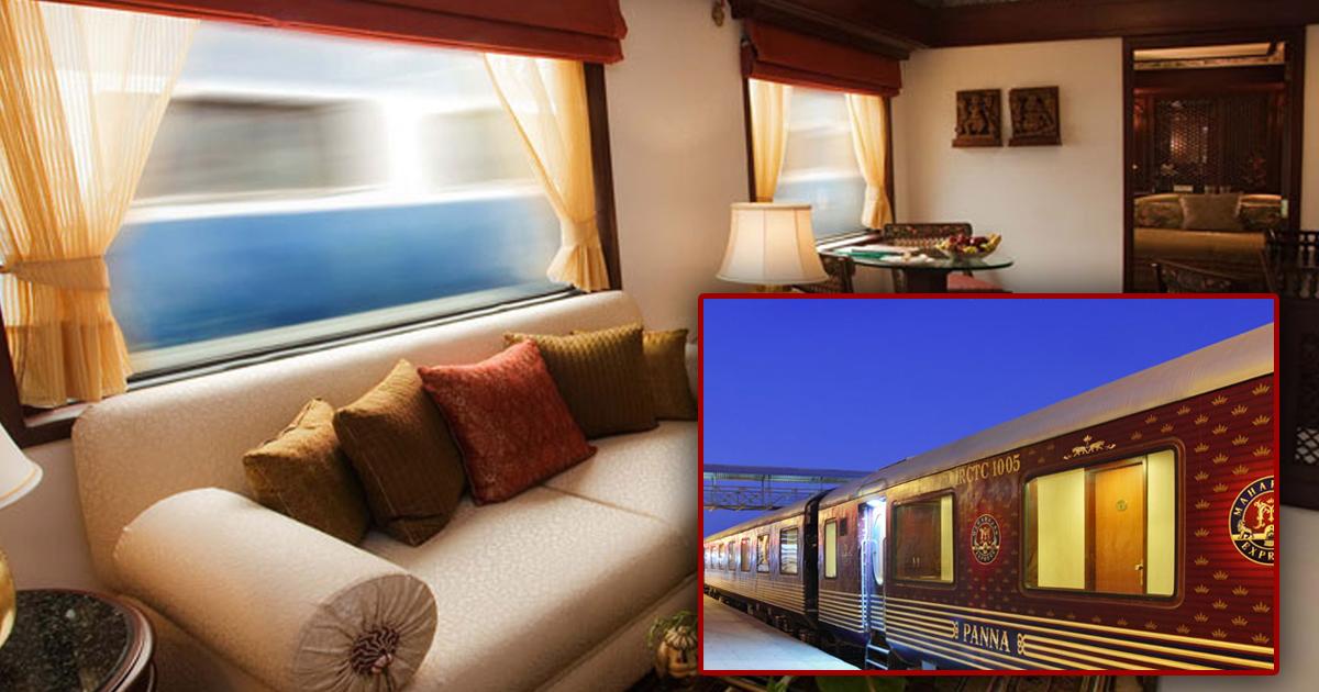 Шеф-повар и лаунж-зона: как выглядит самый роскошный поезд в Индии?