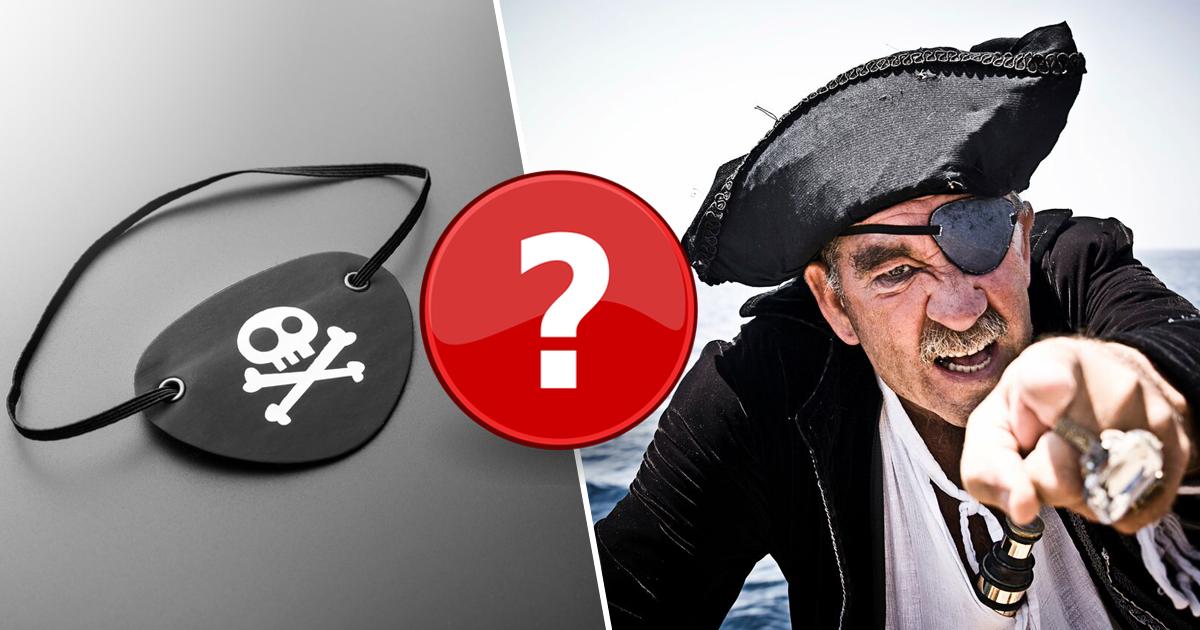 Зачем пираты закрывали один глаз повязкой?