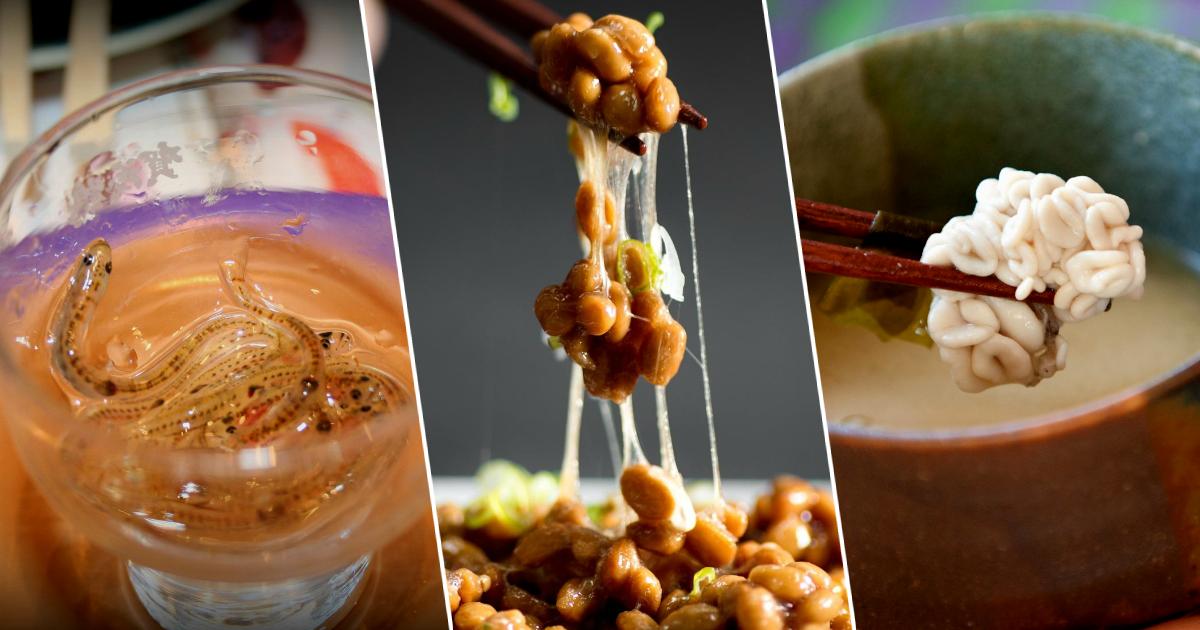 Фото Оно живое! Блюда японской кухни, способные отбить аппетит