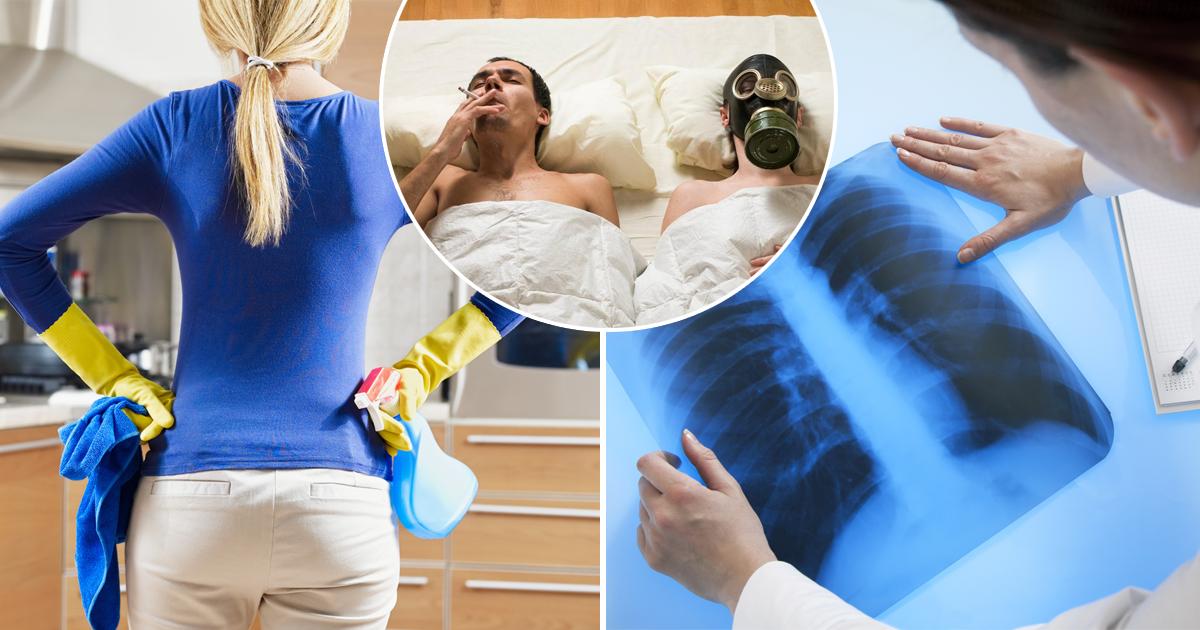Пассивное курение и уборка: вещи, из-за которых вы можете заболеть раком легких