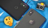 Фото Фото на Xiaomi Mi 8 и iPhone X. Что выбираете?