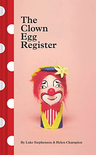 Photo of The Clown Egg Register: photos of the painstakingly painted eggs that English clowns stake their faces on