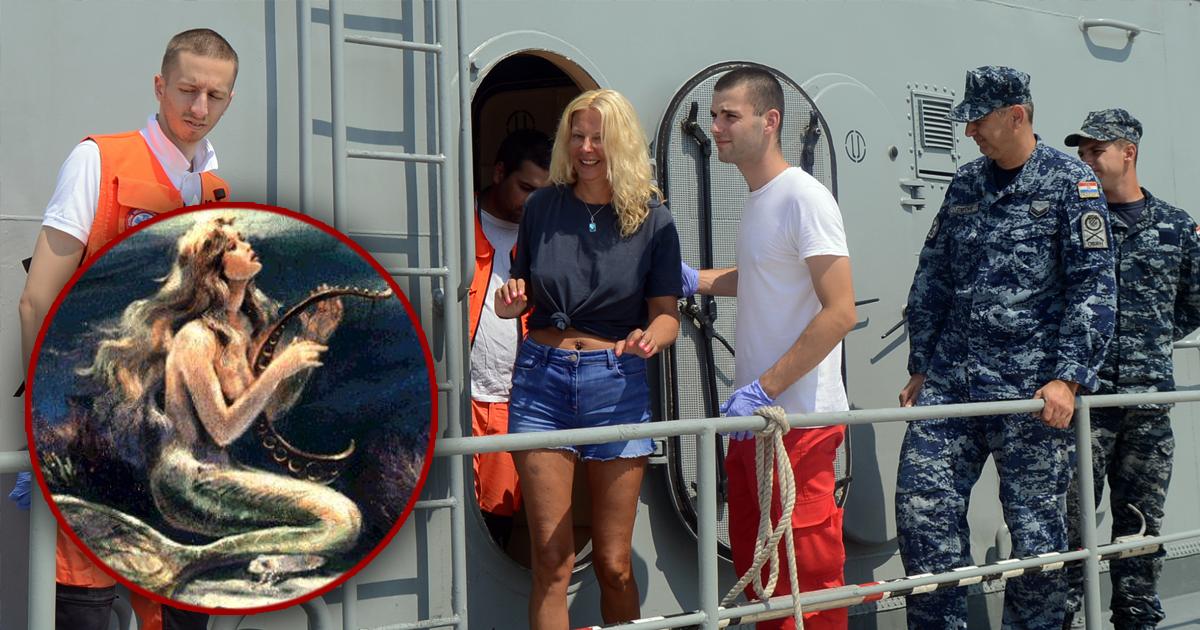 Фото Благодаря пению женщина, упавшая за борт лайнера, смогла спастись