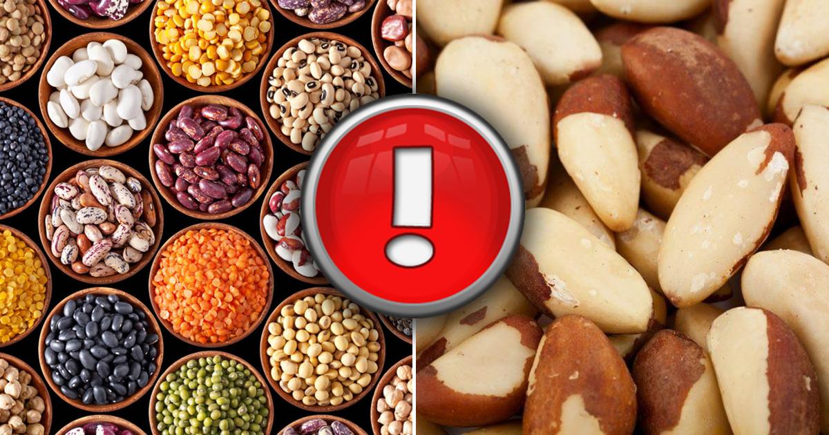 Фото Орехи, зелень, бобовые: полезные продукты, от которых может стать плохо